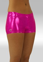 hotpants vaaleanpunainen wetlook W758rz