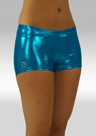Hotpants Blue Wetlook W758tu