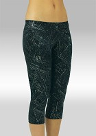 Capri pants Black Crushed Velvet 754137